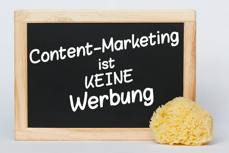 Content Marketing als Werbung nutzen?