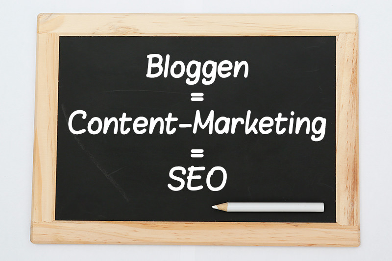 Content = Bloggen = SEO