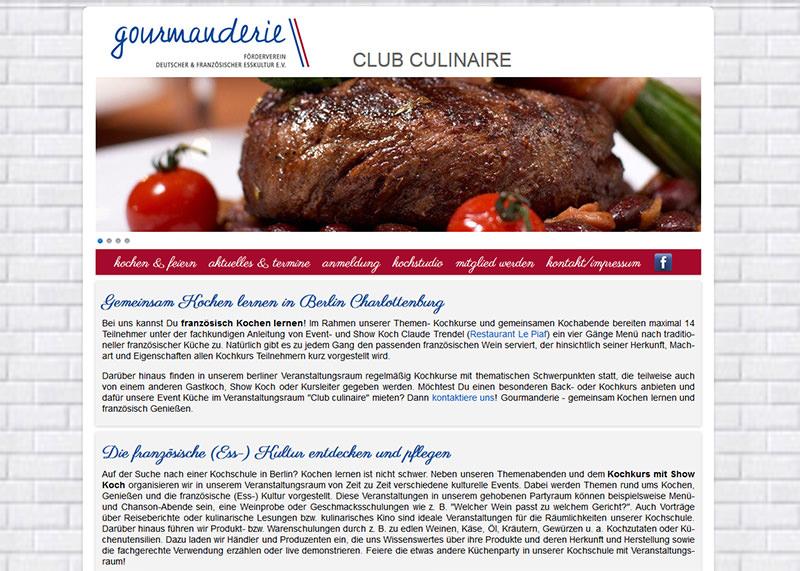 Event Kochen (html & CSS)