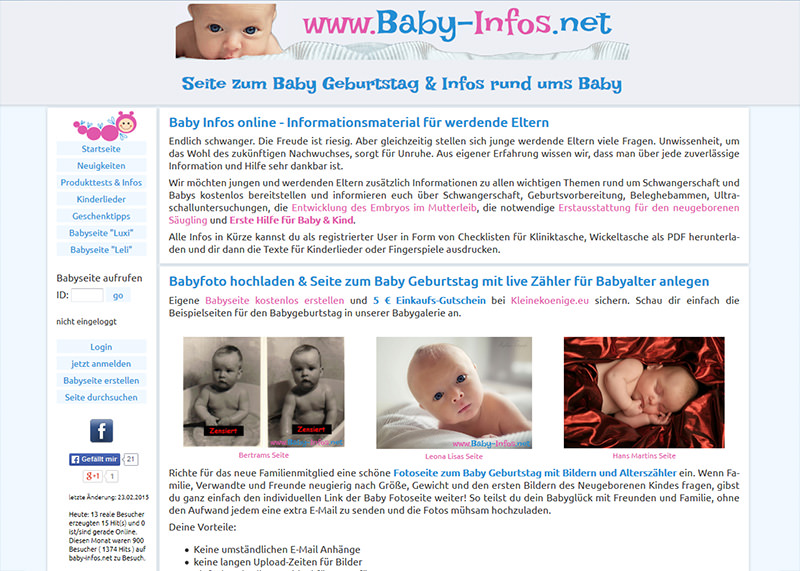 Eltern Ratgeber Baby (altes Design)