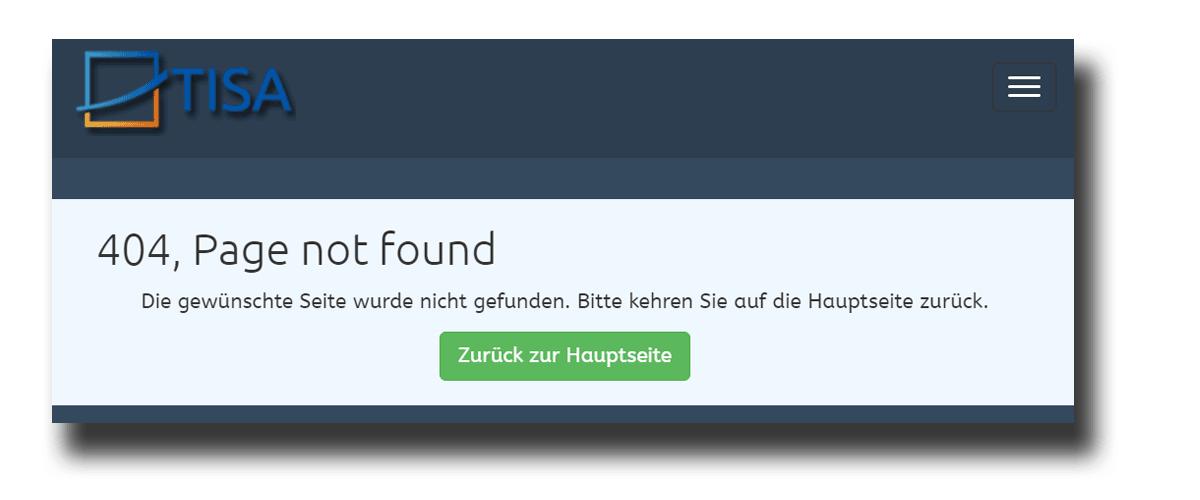 HTTP Status Code 404 und 404-Fehlerseiten