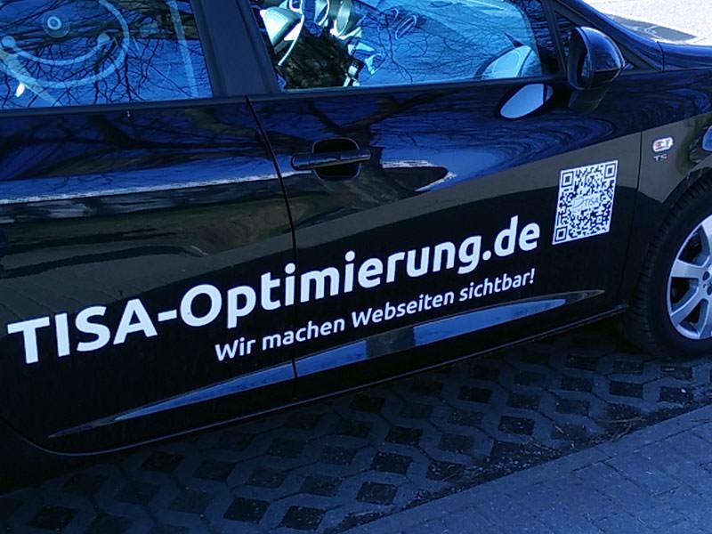 QR Code für Auto