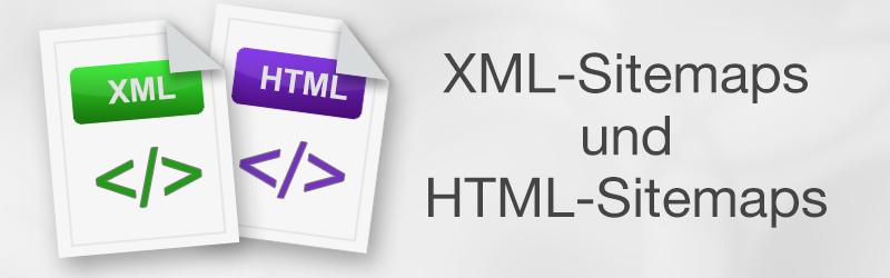 XML- und HTML-Sitemaps